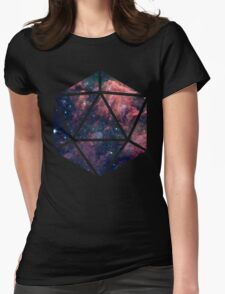 D20 Fairy Dust Womens Fitted T-Shirt
