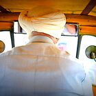 Sikh Auto Rickshaw Driver with Turban in Delhi by not-home.com - We Travel