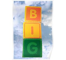 big assorted toy childs play blocks Poster