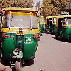 Auto Rickshaws in Delhi, a.k.a. Tuk Tuks by not-home.com - We Travel