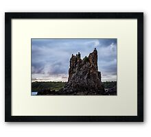 End of the Earth Framed Print