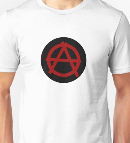 Giant Button: Anarchy Unisex T-Shirt