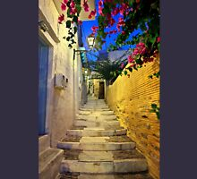 Walking in Ano Syra Unisex T-Shirt