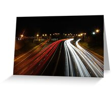 Traffic Greeting Card