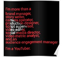 I'm a YouTuber Poster