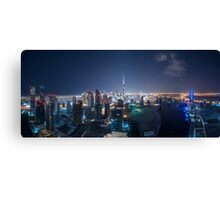 Greetings from Planet Coruscant Canvas Print
