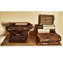 FORGOTTON TREASURES. Photographic Print