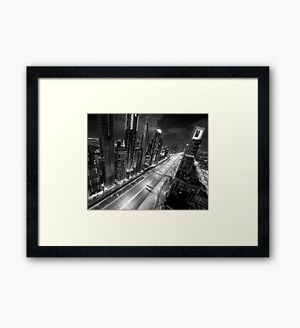 Gotham City Framed Print