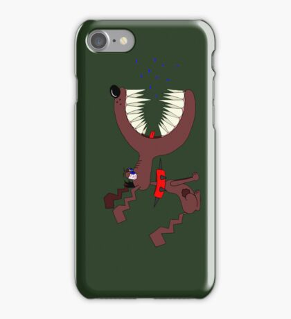 Angry DOG army iPhone Case/Skin