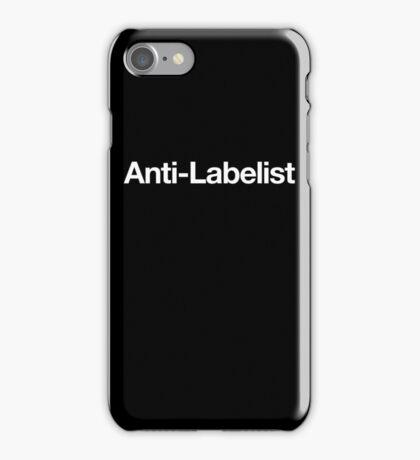Anti-Labelist iPhone Case/Skin
