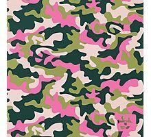 Girls' Generation 'PINK ARMY' Pattern Photographic Print
