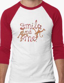 Smile at me! Men's Baseball ¾ T-Shirt