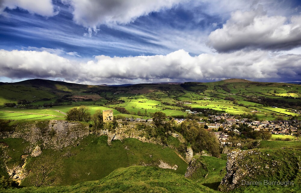 Mam Tor, Peveril Castle, Lose Hill And Castleton by Darren Burroughs
