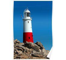 Portland Bill Lighthouse Poster