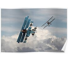 WW1 - SE5 and Triplane - Counterstrike Poster