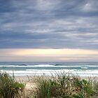 Dawn on the Beach - Anzac Day by Kathie Nichols