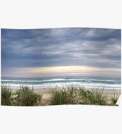 Dawn on the Beach - Anzac Day Poster