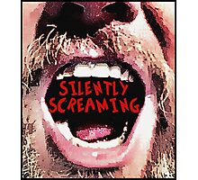 Silently Screaming Photographic Print
