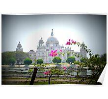 Victoria Memorial, Calcutta, India Poster