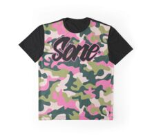 Girls' Generation 'SONE PINK ARMY' Pattern Graphic T-Shirt