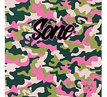 Girls' Generation 'SONE PINK ARMY' Pattern Photographic Print