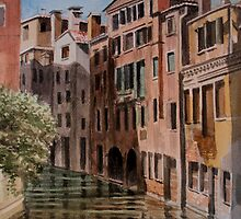 From the bridge, Venice by Freda Surgenor