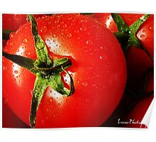 RED RED TOMATOE Poster