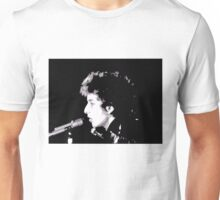 Bob Dylan on Stage Unisex T-Shirt