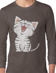 American Shorthair happy Long Sleeve T-Shirt