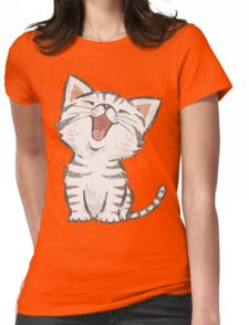 American Shorthair happy Womens Fitted T-Shirt