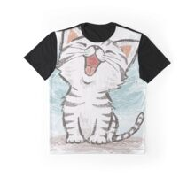 American Shorthair happy Graphic T-Shirt