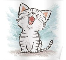 American Shorthair happy Poster