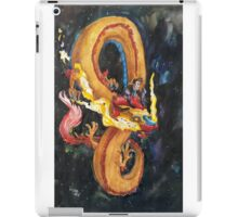 The Doctor and a Space Dragon iPad Case/Skin
