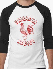 Sriracha Addict Vintage Men's Baseball ¾ T-Shirt