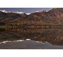 Lake Bohinj Slovenia Photographic Print