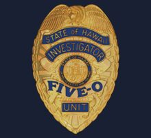 Hawaii 5-0 Badge (Small) by Sharknose