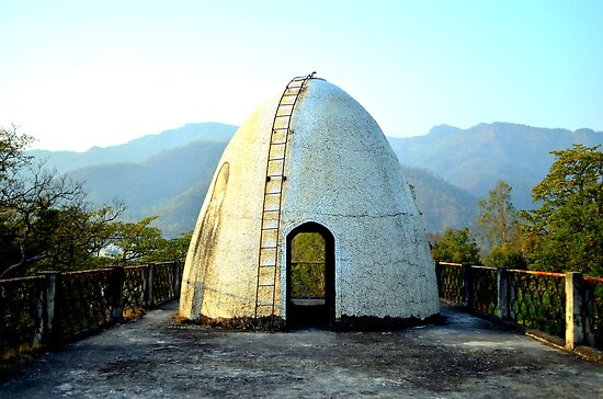 Maharishi Mahesh Ashram Where Beatles Lived, Rishikesh, India  by not-home.com - We Travel