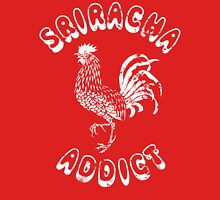 Sriracha Addict Vintage Womens Fitted T-Shirt