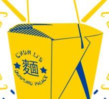 Chun Li's Takeaway Sticker