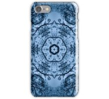 Blue Silhouettes iPhone Case/Skin