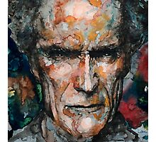 Clint Eastwood 2 Photographic Print