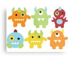 Little Monsters  Metal Print
