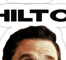 Netflix and Chilton Sticker