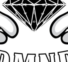 Diamond Hands DMND Sticker