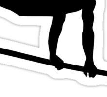 Gymnastics horizontal bar Sticker