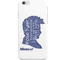 Allons-y, 10th Doctor, Doctor Who iPhone Case/Skin