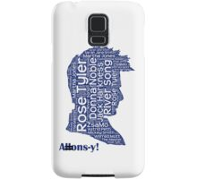 Allons-y, 10th Doctor, Doctor Who Samsung Galaxy Case/Skin
