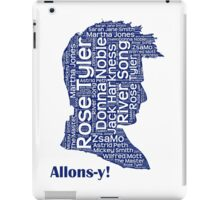 Allons-y, 10th Doctor, Doctor Who iPad Case/Skin