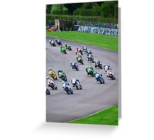 British Superbikes Greeting Card