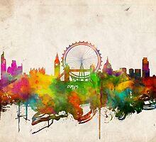 london city skyline 4 by BekimART